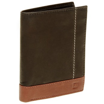 Men's leather wallet bata, black , 944-6150 - 13