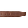 Men's brown leather belt bata, brown , 954-3170 - 16