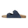 Children's blue slippers de-fonseca, blue , 373-9600 - 26