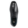 Leather Men's Shoes climatec, black , 824-6130 - 19