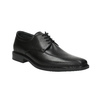 Leather Men's Shoes climatec, black , 824-6111 - 13