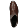 Leather Chelsea footwear bata, brown , 594-4448 - 17