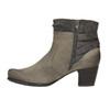 Ladies' ankle-cut shoes bata, gray , 696-2617 - 26