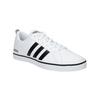 Men's white sneakers adidas, white , 801-1188 - 13