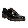 Ladies' patent leather shoes gabor, black , 628-6006 - 13