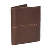 Men's quilted wallet bata, brown , 944-3176 - 13