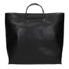 Ladies' handbag with metal handles, black , 961-6789 - 26