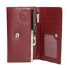 Ladies' leather purse bata, red , 944-5357 - 15