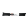 Black laces 90 cm bata, black , 901-6911 - 13