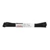 Black laces 80 cm bata, black , 901-6803 - 13