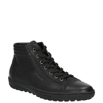 Ladies' ankle sneakers bata, black , 594-6659 - 13