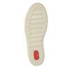 Ladies' ankle sneakers bata, brown , 594-8659 - 26