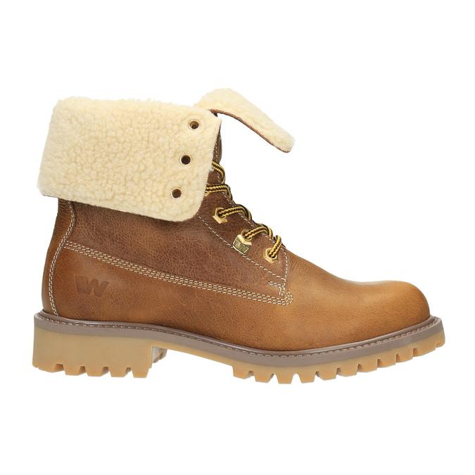 Ladies' winter boots weinbrenner, brown , 596-4638 - 15