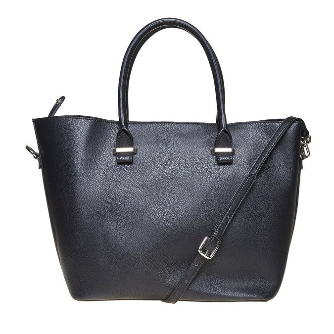 Elegant ladies' handbag bata, black , 961-6278 - 26