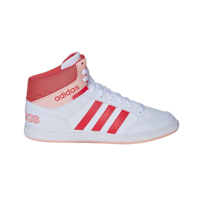 Girls' ankle sneakers adidas, white , 401-5253 - 15
