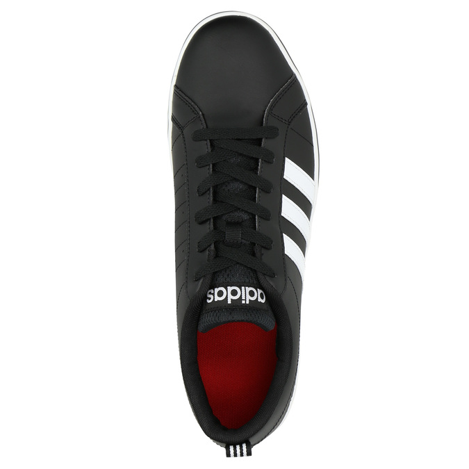 Men's casual sneakers adidas, black , 801-6136 - 19
