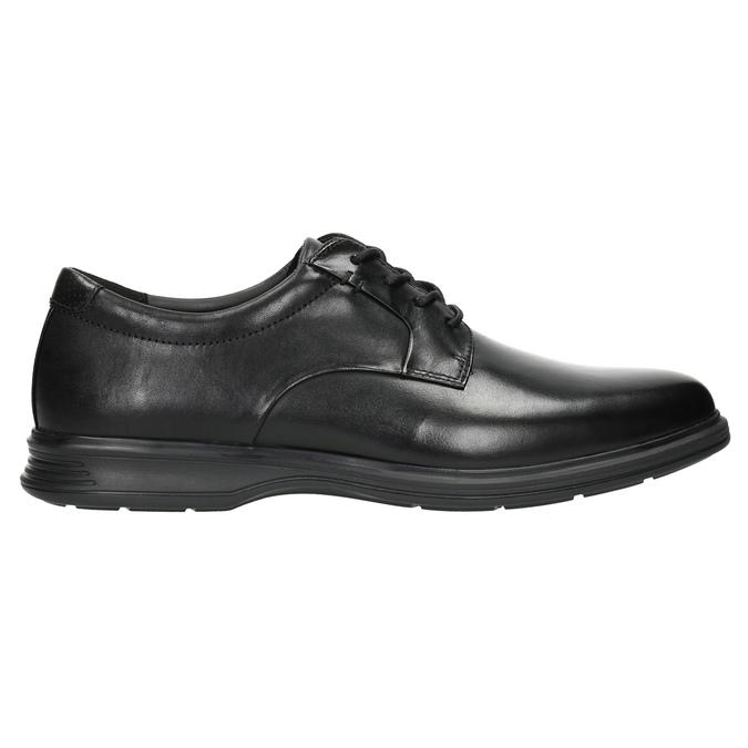 Men's leather shoes rockport, black , 824-6112 - 15