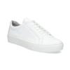 White leather sneakers vagabond, white , 624-1019 - 13