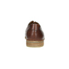 Casual brown leather shoes bata, brown , 826-4807 - 17