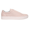 Pink leather sneakers vagabond, pink , 624-8019 - 15