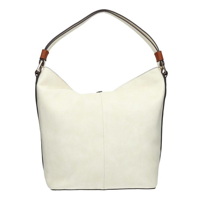 Hobo-style handbag, beige , 961-8705 - 19