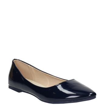 Ladies' patent leather ballerinas bata, 521-2602 - 13