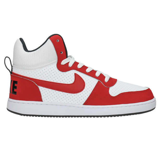 Men's ankle sneakers nike, red , 801-5332 - 15