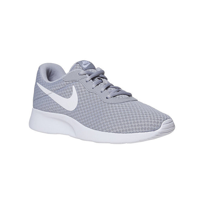 Grey sporty sneakers nike, gray , 809-2557 - 13