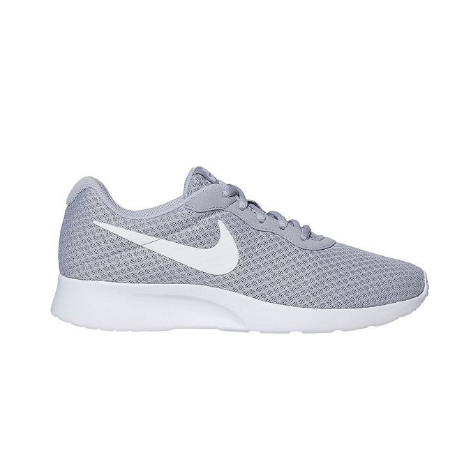 Grey sporty sneakers nike, gray , 809-2557 - 15