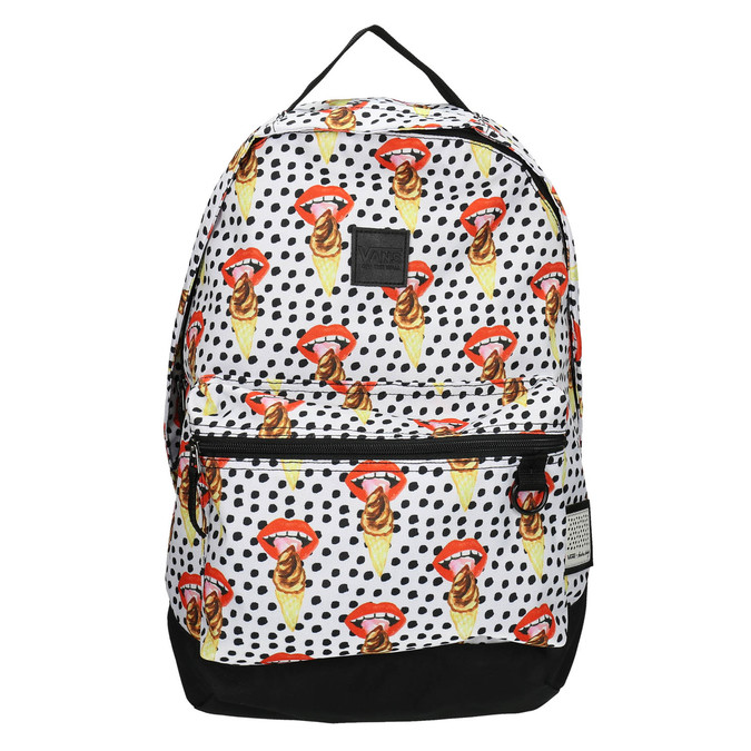 Backpack with pattern and polka dots vans, 969-0082 - 19
