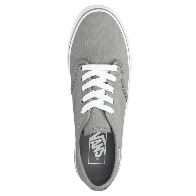 Ladies' grey sneakers vans, gray , 589-2211 - 26