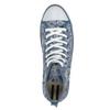 Ladies' patterned ankle sneakers north-star, blue , 589-9442 - 19