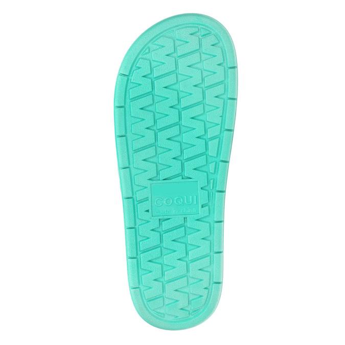 Ladies' textured slip-ons coqui, turquoise, 572-7609 - 19