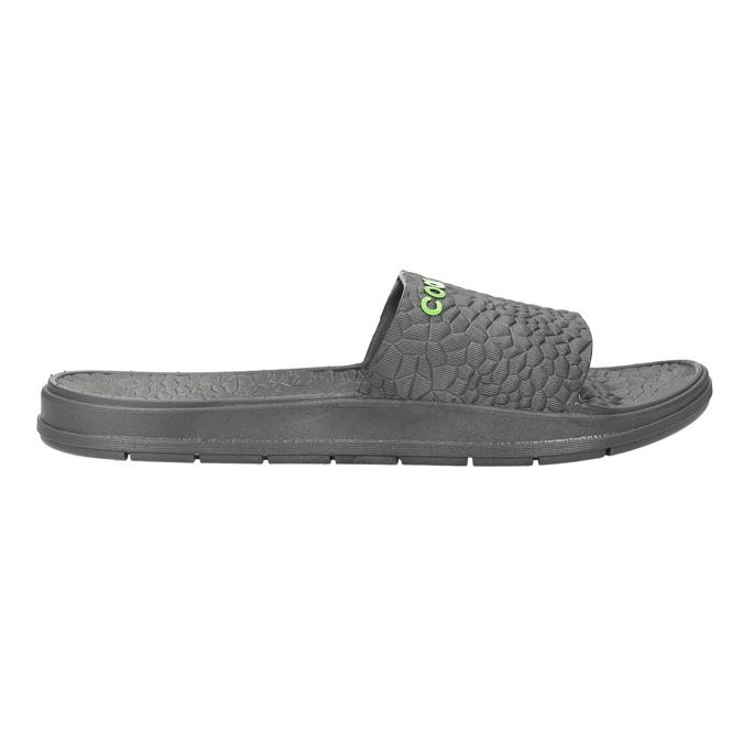 Men's grey slip-ons coqui, gray , 872-2619 - 15