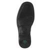 Men's shoes with stitching pinosos, black , 824-6542 - 19