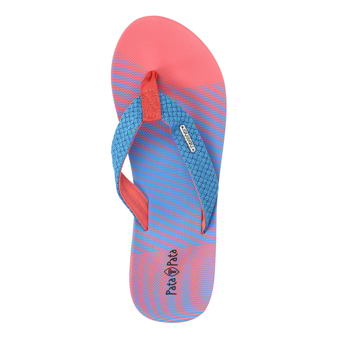 Ladies' flip-flops pata-pata, red , 579-9615 - 26