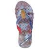 Ladies' flip-flops with denim straps north-star, blue , 579-9617 - 26