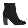Ladies' ankle boots with stitching bata, black , 799-6615 - 15