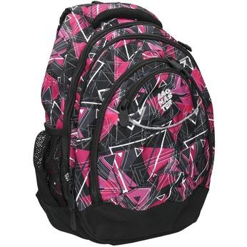 School backpack bagmaster, pink , 969-5650 - 13
