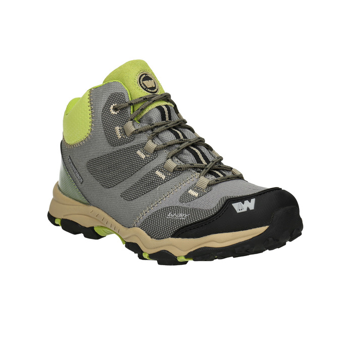 Children's grey Outdoor boots weinbrenner-junior, gray , 419-2613 - 13