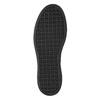 Ladies' Slip-on on black flatforms bata, gray , 516-1613 - 19