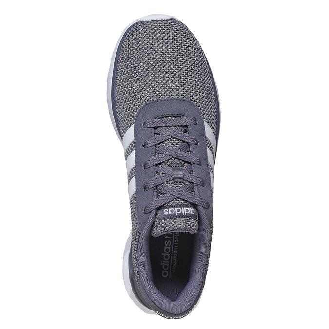 Men's grey sneakers adidas, gray , 809-2198 - 19