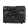 Ladies' handbag with a chain bata, black , 961-6753 - 26