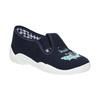 Kids' slippers with a shark mini-b, blue , 379-9213 - 13