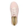 Ladies' leather sneakers weinbrenner, pink , 526-5644 - 15