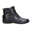 Ladies' leather high boots bata, blue , 596-9657 - 15