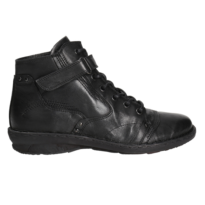 Ladies' ankle boots bata, black , 596-6656 - 15