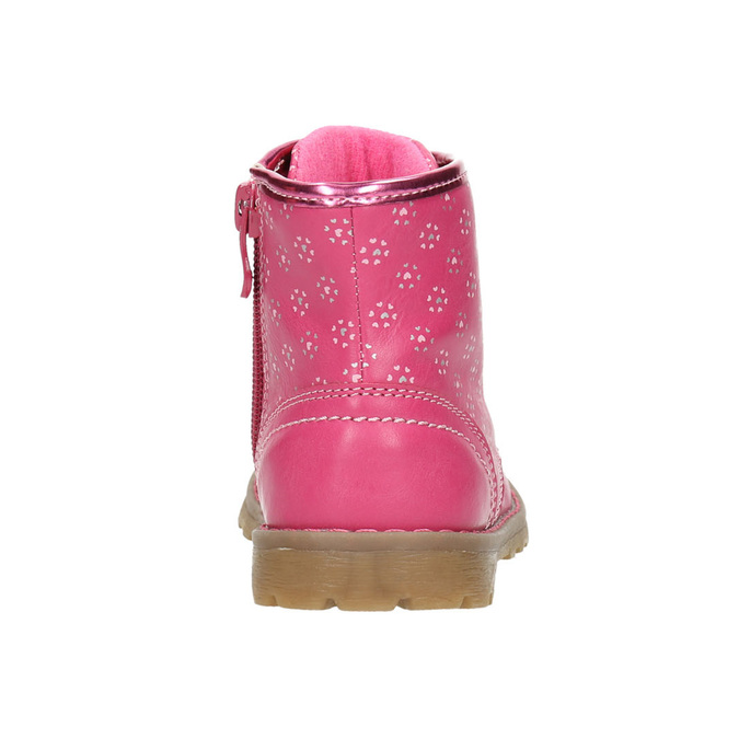 Pink ankle shoes bubblegummer, pink , 221-5606 - 17