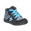 Boys' leather shoes bubblegummer, blue , 113-9601 - 13