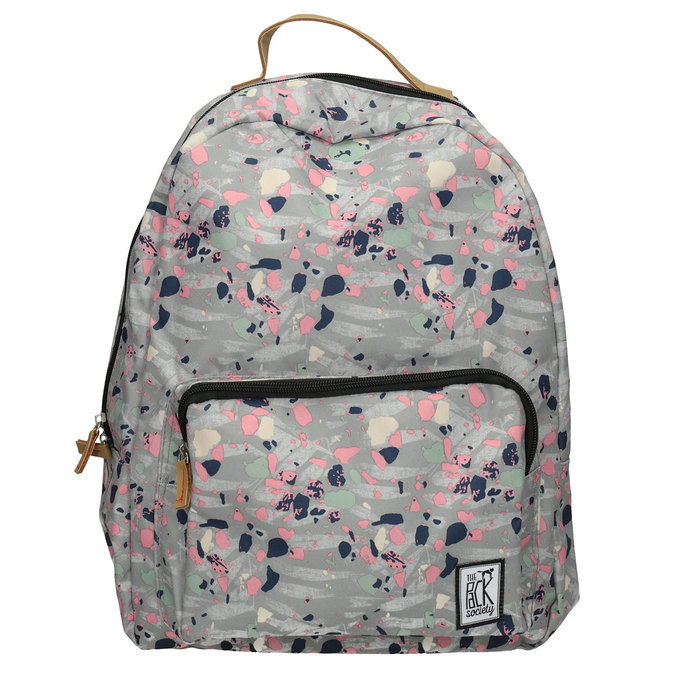 Backpack with Colourful Pattern, gray , 969-2085 - 26